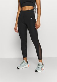 Puma - EVOSTRIPE HIGH WAIST - Tights - black - 0