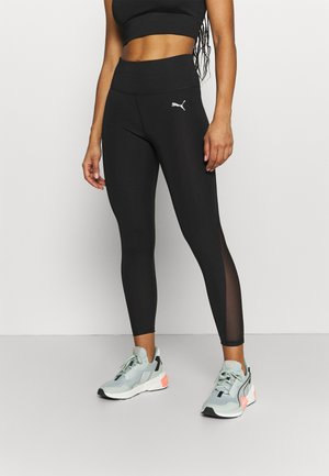 EVOSTRIPE HIGH WAIST - Legging - black