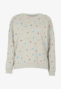 Boden - JASMINE  - Sweatshirt - grau meliert, polka-tupfen - 4