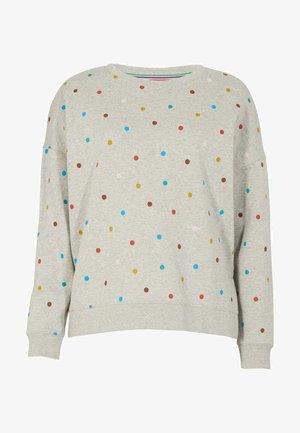 JASMINE  - Sweatshirt - grau meliert, polka-tupfen