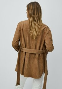 Massimo Dutti - Short coat - beige - 1