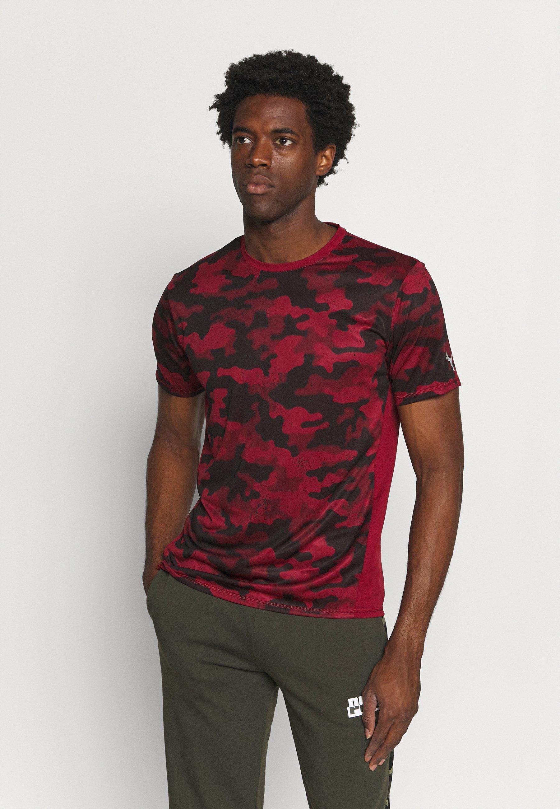 Homme RUN GRAPHIC TEE - T-shirt imprimé