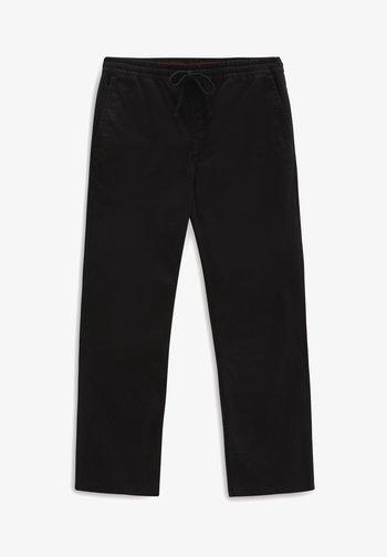 MN RANGE RELAXED ELASTIC PANT - Trousers - black