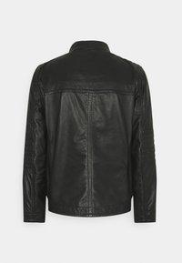 Strellson - DRIVER - Leather jacket - black - 7