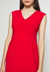 Lauren Ralph Lauren Petite - JANNETTE CAP SLEEVE DAY DRESS - Shift dress - persimmon - 5
