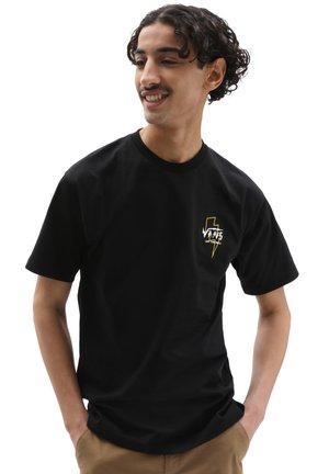 MN ELECTROSTATIC OUTLINE S/S ELX - Print T-shirt - black