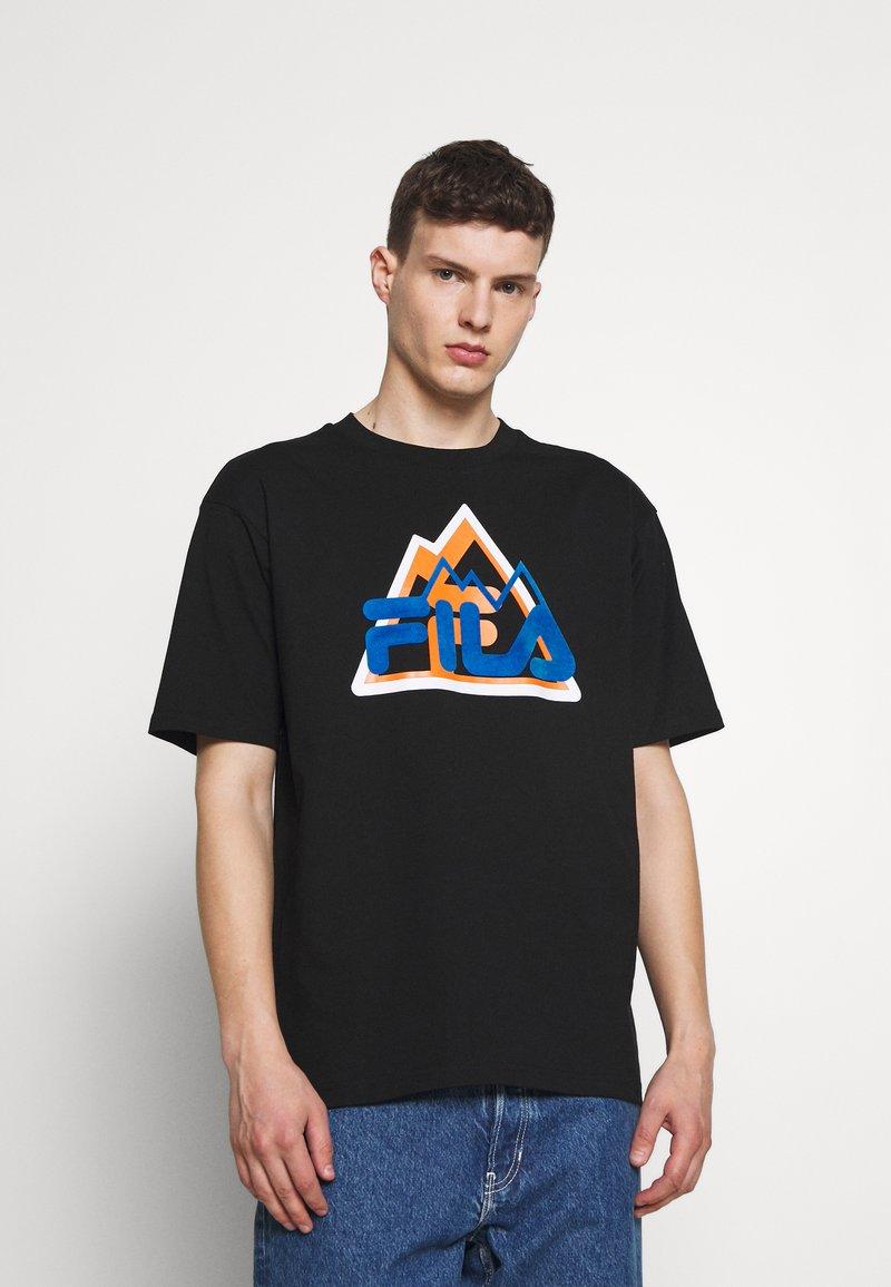 Fila - YORICK GRAPHIC TEE - Majica kratkih rukava s printom - black