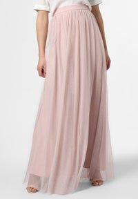 Marie Lund - Maxi skirt - pink - 0