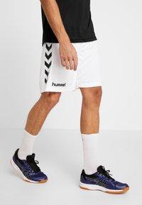 Hummel - CORE SHORTS - Sports shorts - white - 0