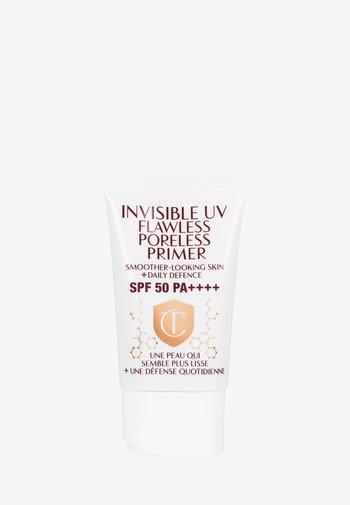 INVISIBILE UV FLAWLESS PORELESS PRIMER +50 SPF - Sun protection - -