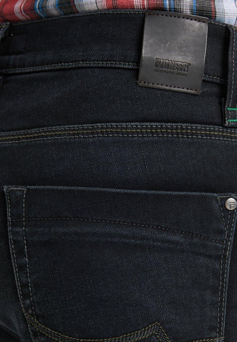 Pioneer Authentic Jeans ERIC MEGAFLEX - Jeans Straight Leg - dark used/blue-black denim GZv9Vn
