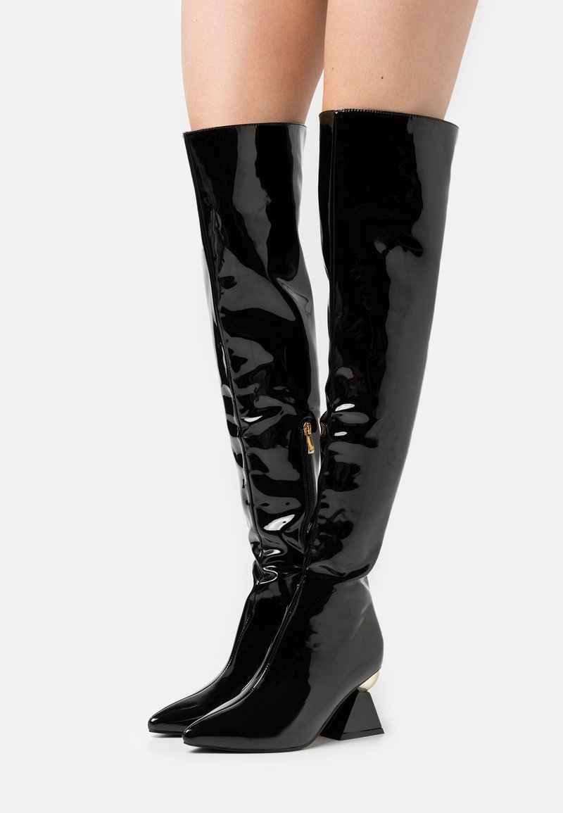RAID - SPIRAL - Over-the-knee boots - black