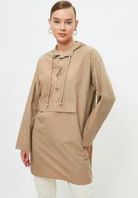 Trendyol - Long sleeved top - grey - 0