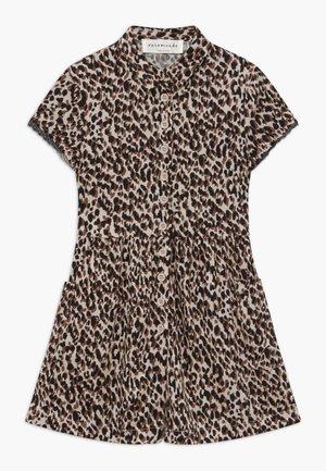 DRESS - Košilové šaty - brown shadow