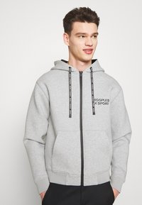 The Kooples - veste en sweat zippée - grey - 3