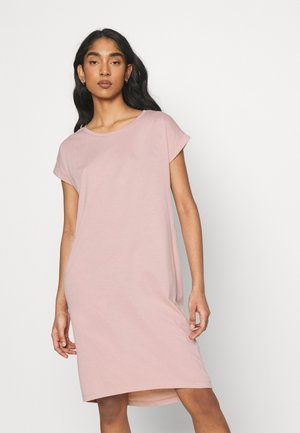 VIDREAMERSKNEE DRESS - Jerseykjole - misty rose