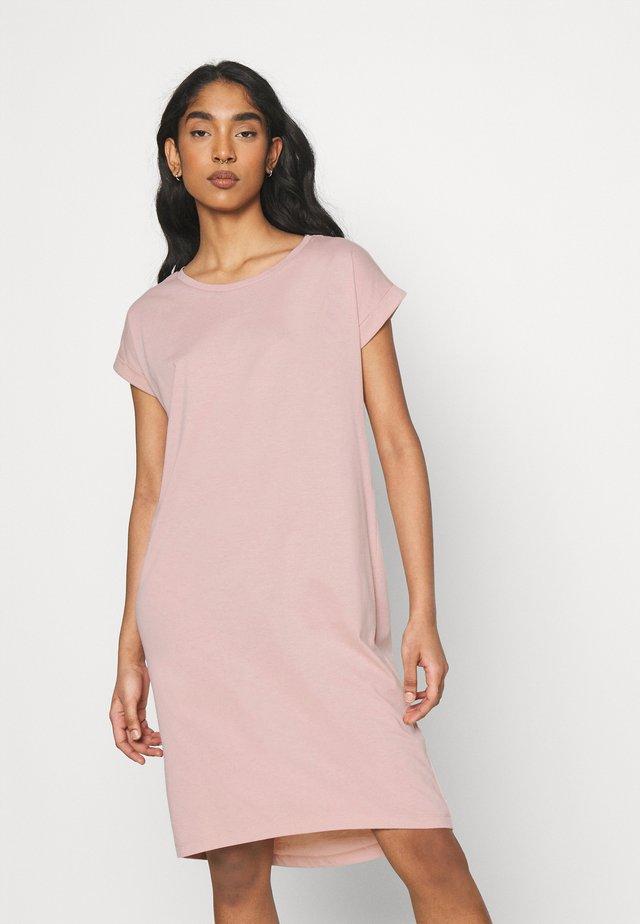 VIDREAMERSKNEE DRESS - Žerzejové šaty - misty rose
