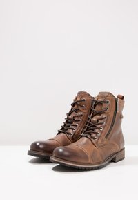 Pepe Jeans - MELTING ZIPPER NEW - Lace-up ankle boots - tan - 2