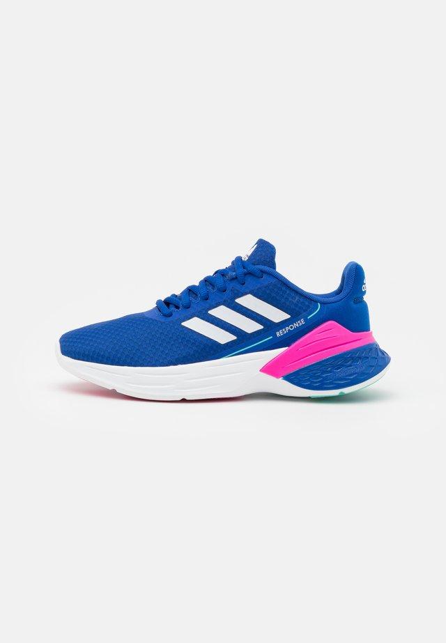 RESPONSE SR - Hardloopschoenen neutraal - team royal blue/footwear white/halo blue