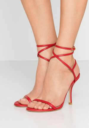MERINDA - Sandals - followme red