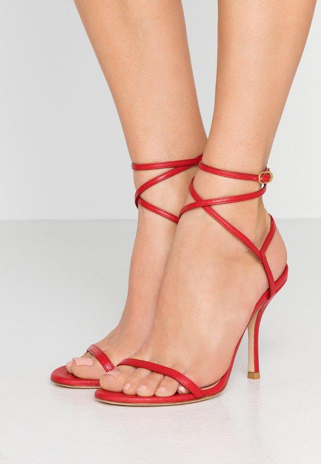 MERINDA - Sandals - followme red