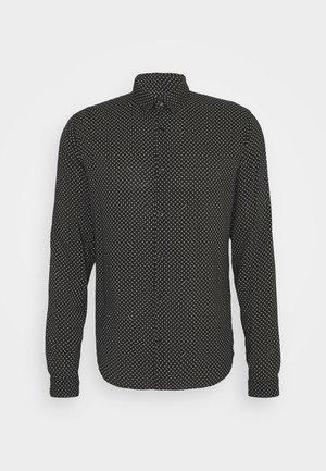CHEMISE - Shirt - black/white
