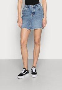ONLY - ONLSKY SKIRT - Gonna di jeans - light blue denim - 0