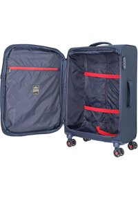 march luggage - TOURER  - Wheeled suitcase - navy / red - 4