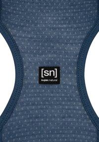super.natural - MERINO TANKTOP W JONSER TANK - Sports shirt - denim - 2