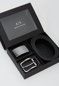 Armani Exchange - BELT SET - Belt - nero - 0