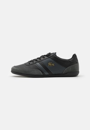 GIRON - Sneakersy niskie - black/dark grey