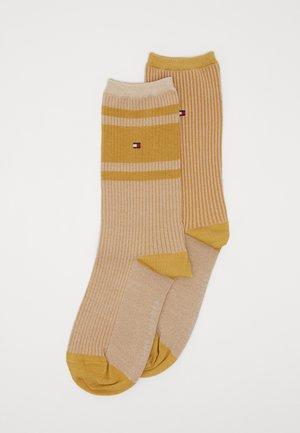 SOCK 2 PACK - Socks - old gold