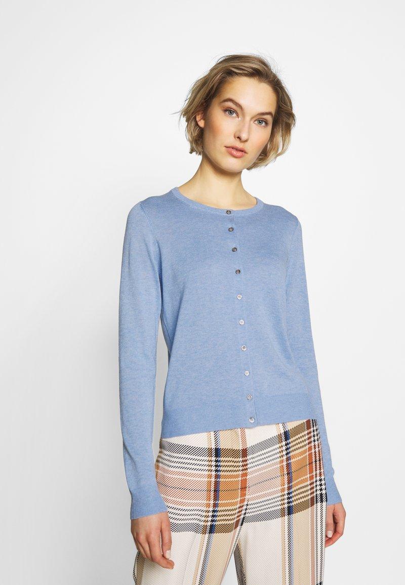 Repeat - Cardigan - med blue