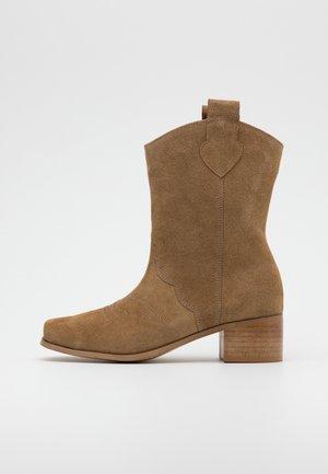 DIGGER - Cowboy/Biker boots - brown