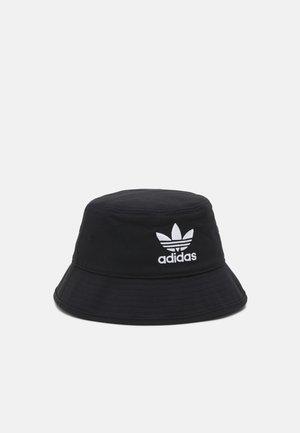 BUCKET HAT UNISEX - Klobouk - black/white