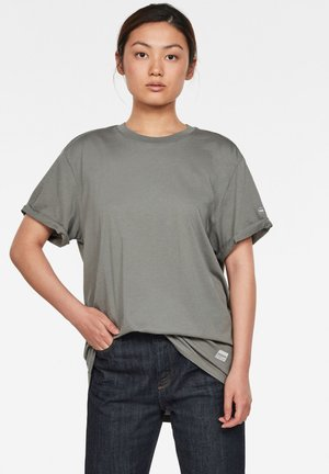 LASH FEM LOOSE - Basic T-shirt - lt building