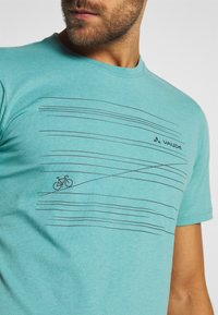 Vaude - ME CYCLIST  - T-Shirt print - lake - 6