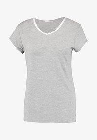 SINGLE SHORT SLEEVE - Pyjamashirt - medium grey