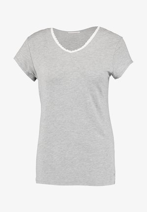 SINGLE SHORT SLEEVE - Pyjama top - medium grey