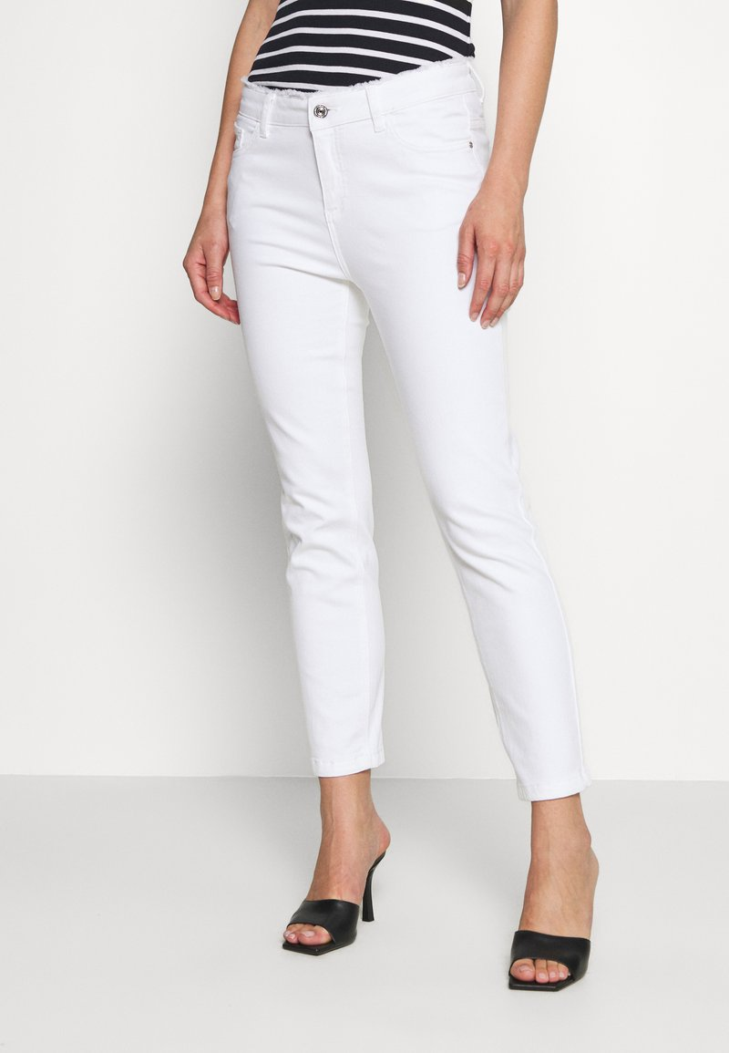 comma casual identity - Slim fit jeans - white