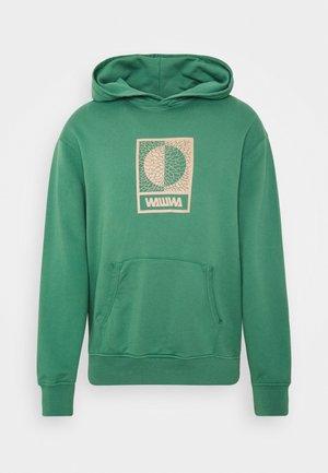 TIKSI HOODIE UNISEX - Bluza z kapturem - green