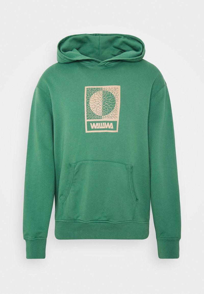 WAWWA - TIKSI HOODIE UNISEX - Bluza z kapturem - green