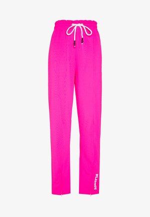 PLAYBOY SPLIT STRAIGHT LEG TROUSERS - Pantalones deportivos - pink