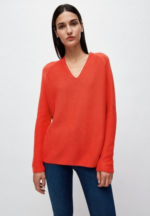 FAARINA - Jumper - aurora red