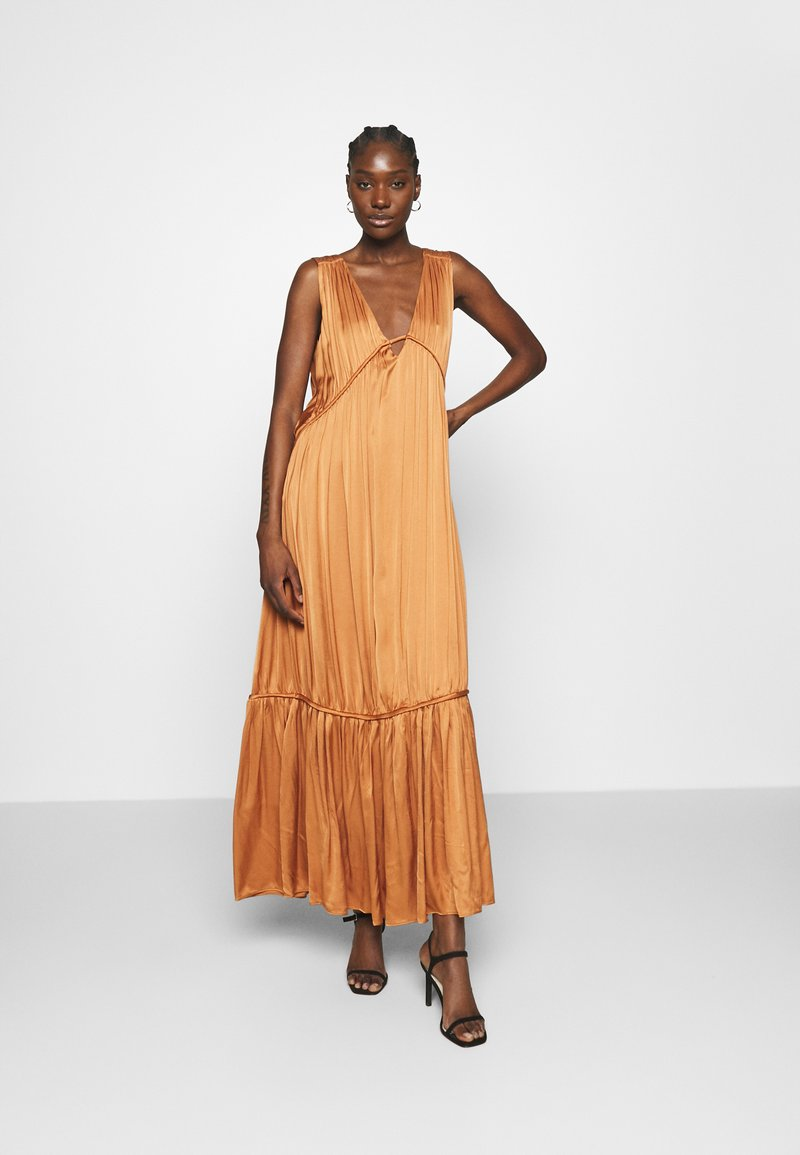 IVY & OAK - MALVA - Długa sukienka - dark dusty blush