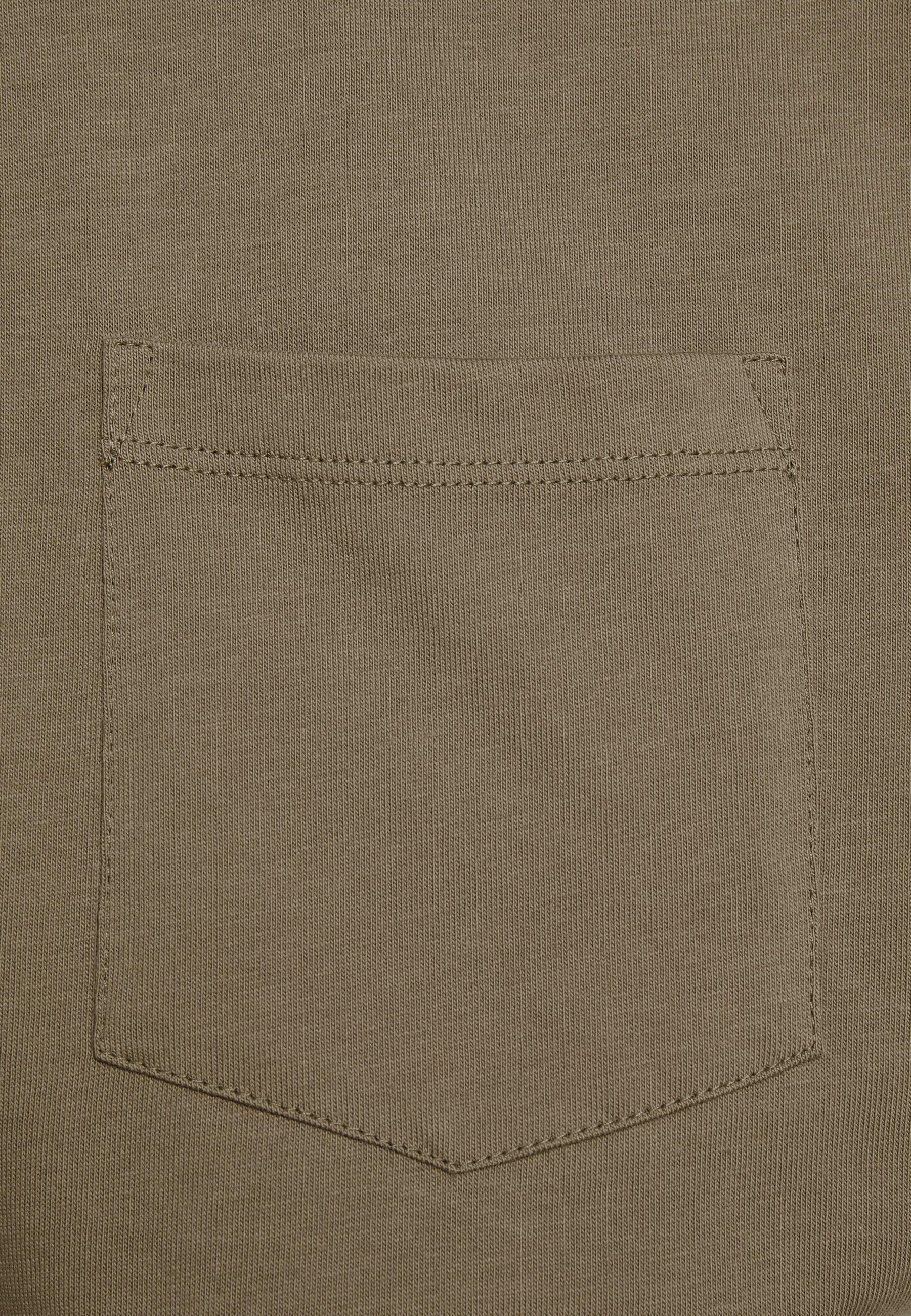 CLOSED BASIC  - Basic T-shirt - muddy beige R04J1