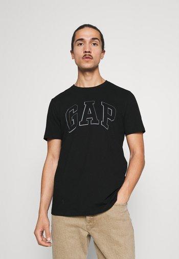 RAISED ARCH - Print T-shirt - true black