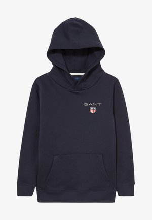 MEDIUM SHIELD HOODIE UNISEX - Jersey con capucha - evening blue