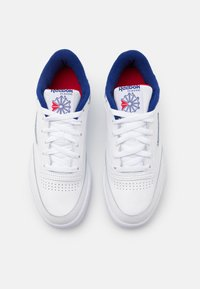 Reebok Classic - CLUB C 85 - Trainers - white/deep cobalt/vector red - 3