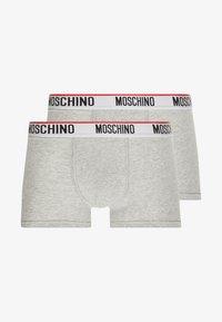 Moschino Underwear - TRUNK 2 PACK - Underbukse - grey - 3